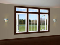 Aeris VT800 Casement type replacement window
