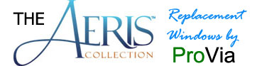 Aeris collection replacement windows by ProVia