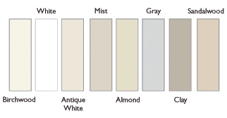 CedarMAX Siding offers 8 designer shades